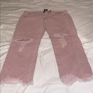 Mossino distressed jeans
